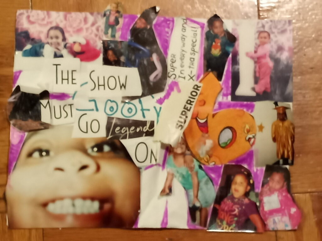 Zenay B.2nd Grade, Timeline of My Sister's Childhood