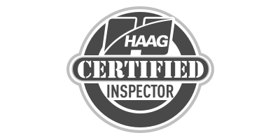 HAGG Certified Inspector Logo