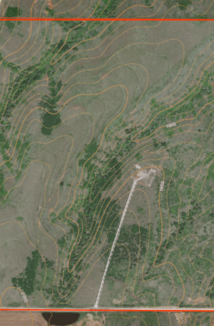 OkieHunts Hunting Lease Map