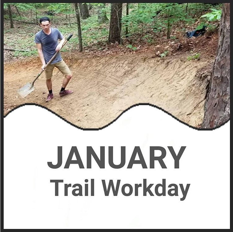 January Trail workday
