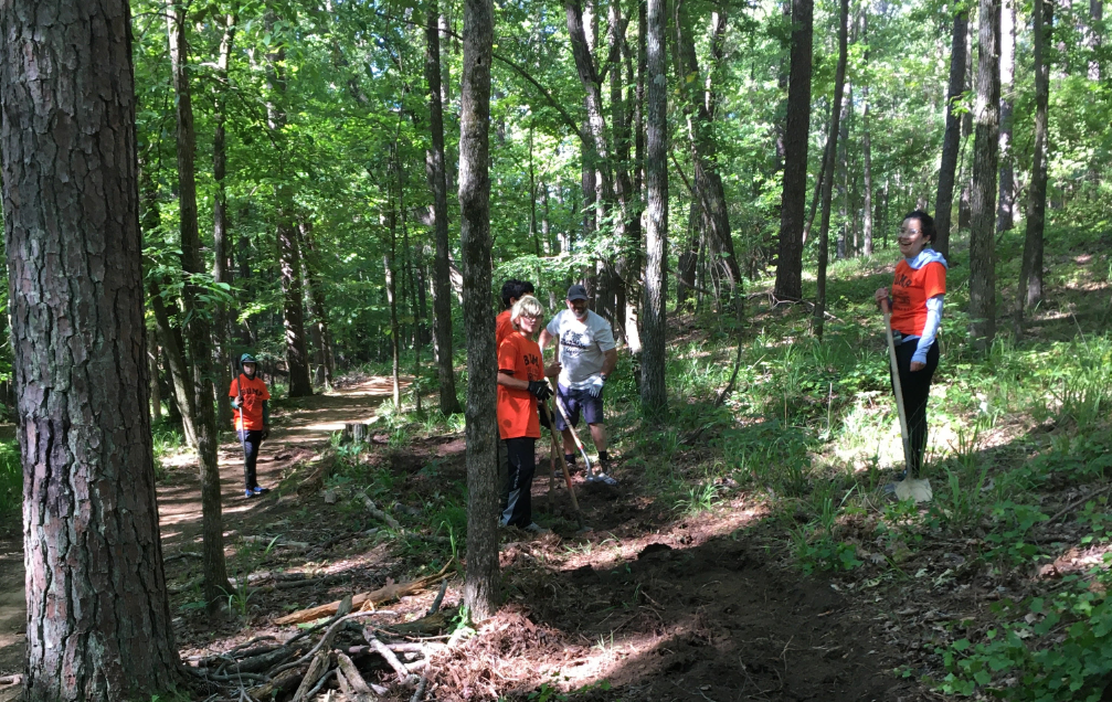 May Trail Workday at Oak Mountain State Park