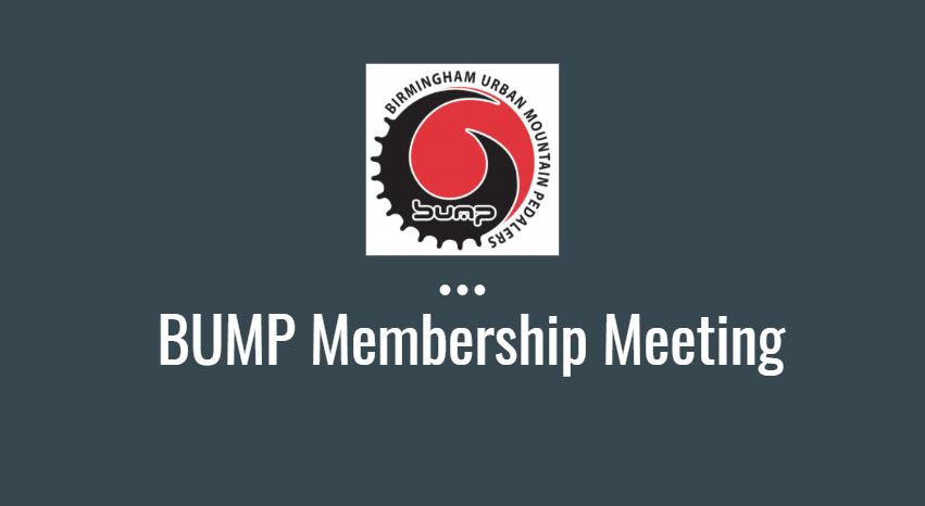 BUMP Meeting Minutes