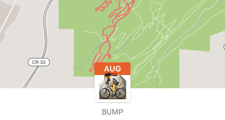 BUMP Virtual challenge ride
