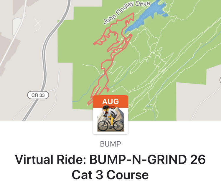 Four Virtual Challenge Rides – August 2020