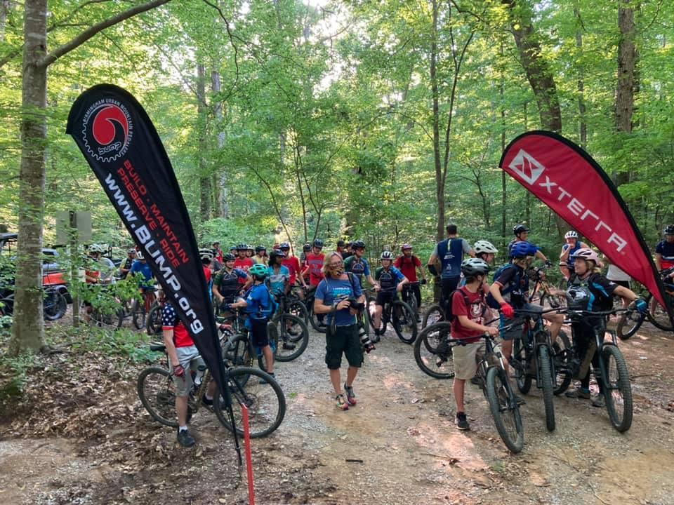 SLINGSHOT -BUMP's Newest Trail at Oak Mountain