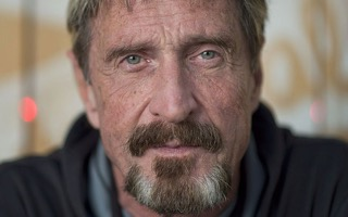 Mcafee cryptocurrency eat his own