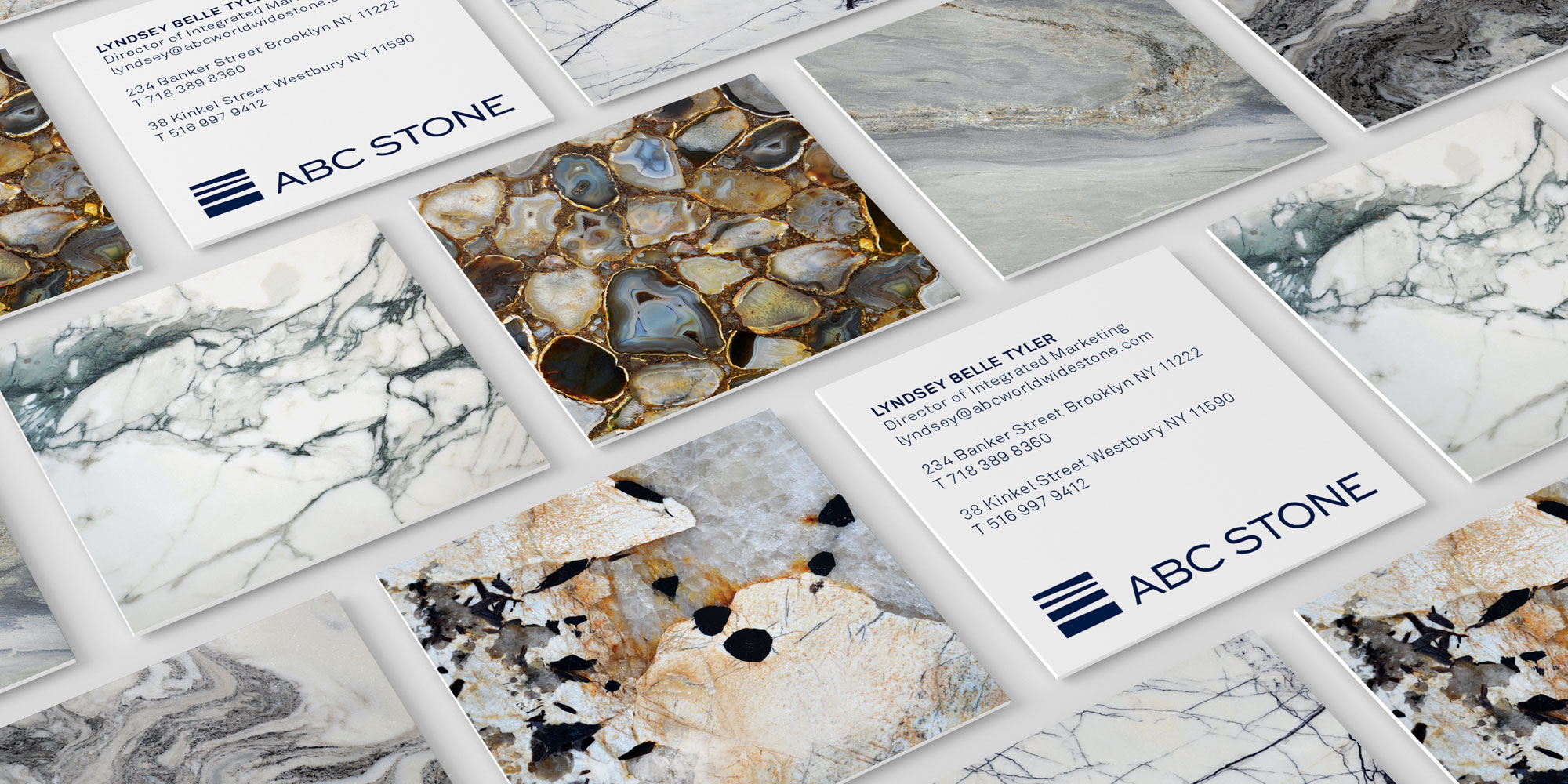 ABC Stone Business Cards