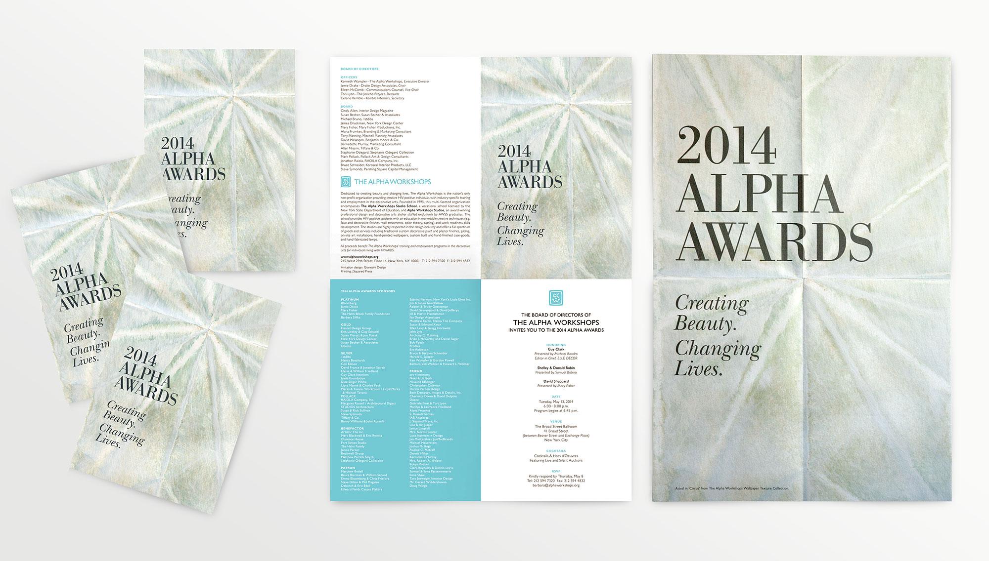 Alpha Workshops Alpha Awards 2014