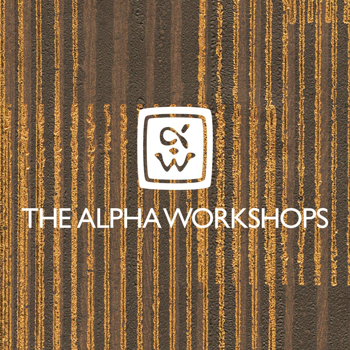 The Alpha Workshops Logo