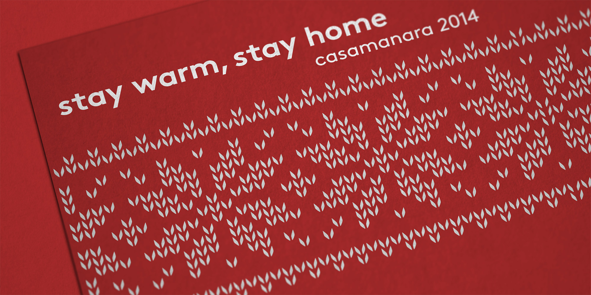 Casamanara Holiday Card 2014