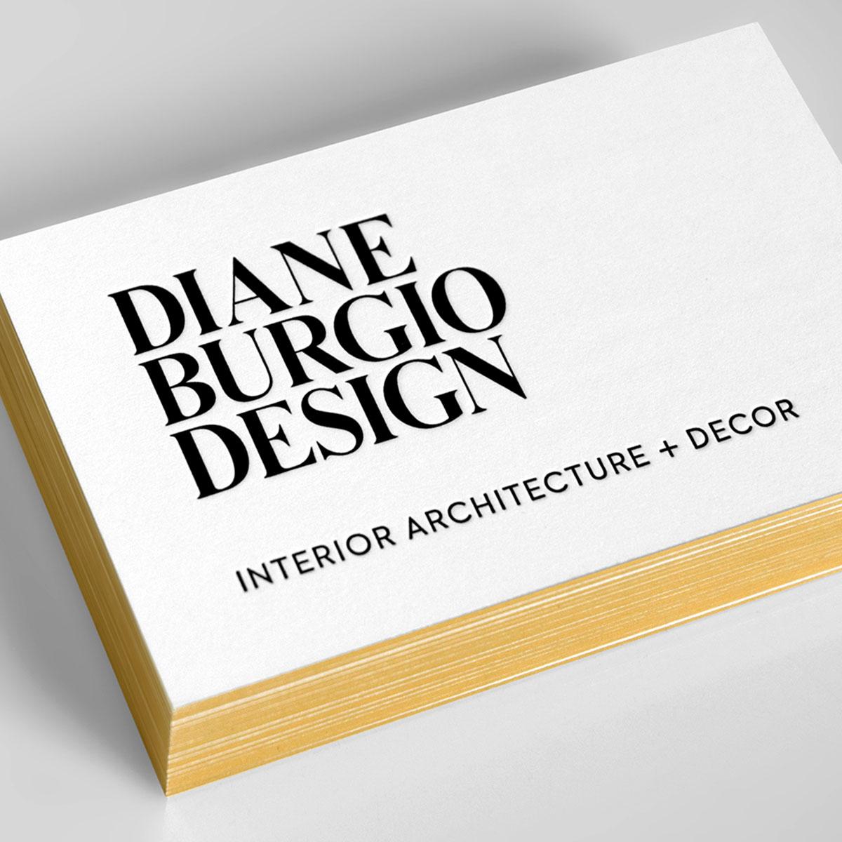 Diane Burgio Design Logo