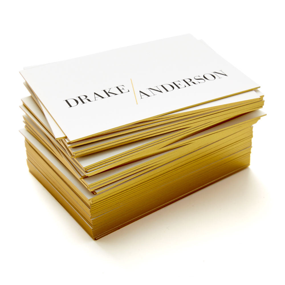 Drake/Anderson Business Cards Stack