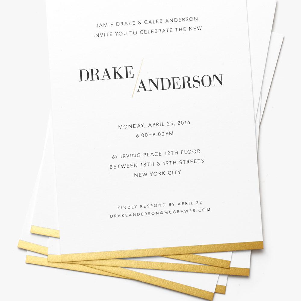 Drake/Anderson Invite