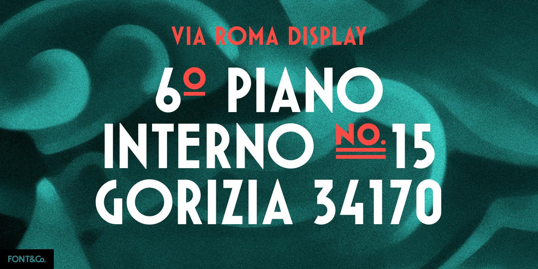 Font&Co. Via Roma 07