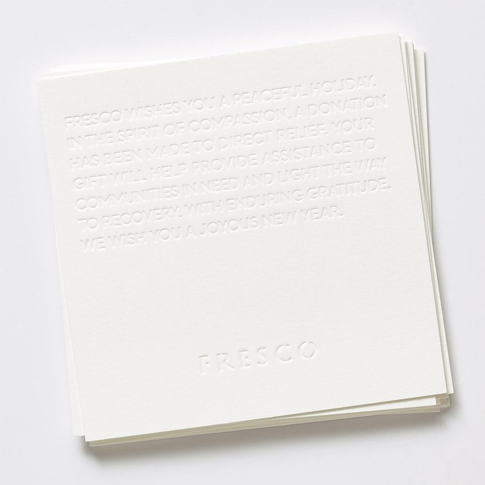 Fresco Holiday Card 2017