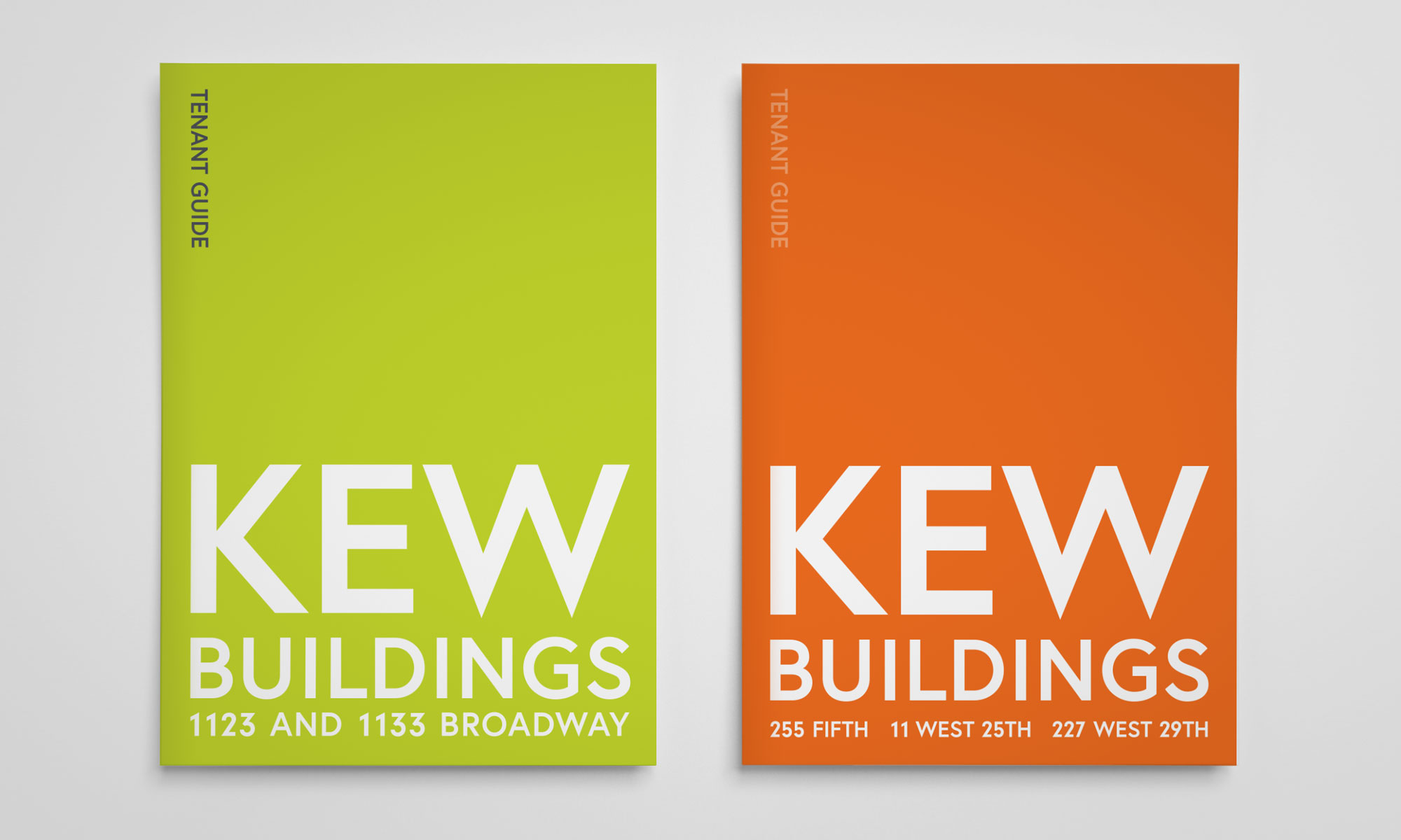 Kew Management Tenant Guide Covers
