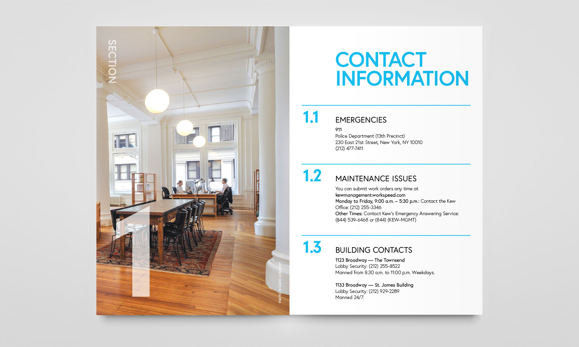 Kew Management Tenant Guide Spread 2