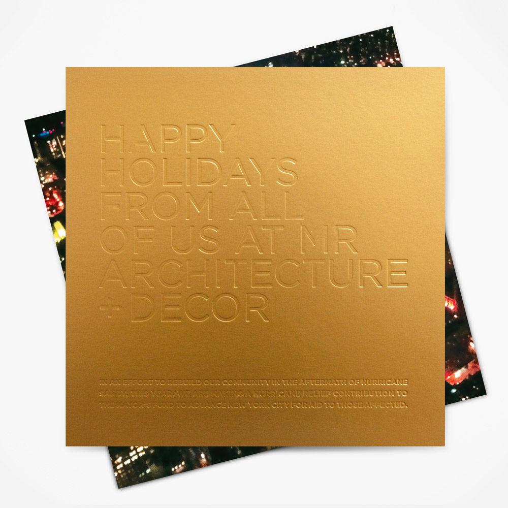 MR 2012 Holiday Card