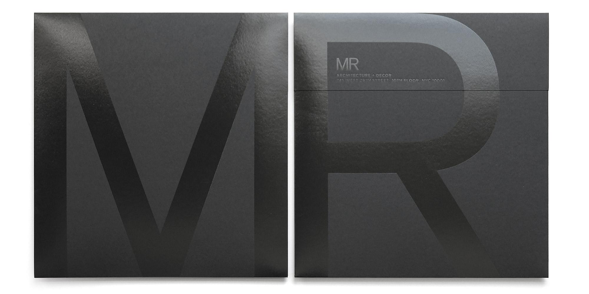 MR 2012 Holiday Card Envelope