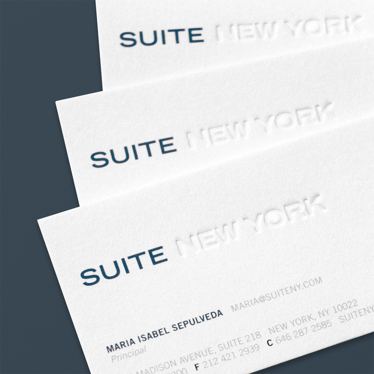 Suite NY Business Cards
