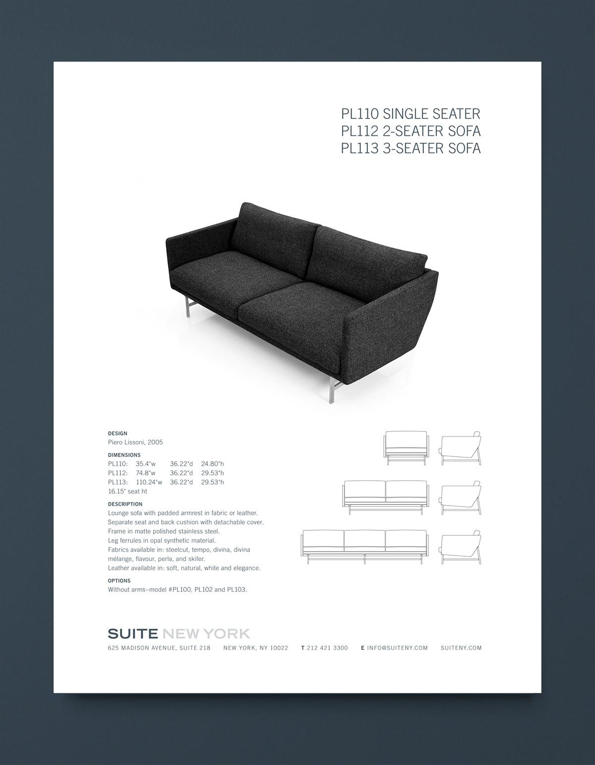 Suite NY Catalog Sofa