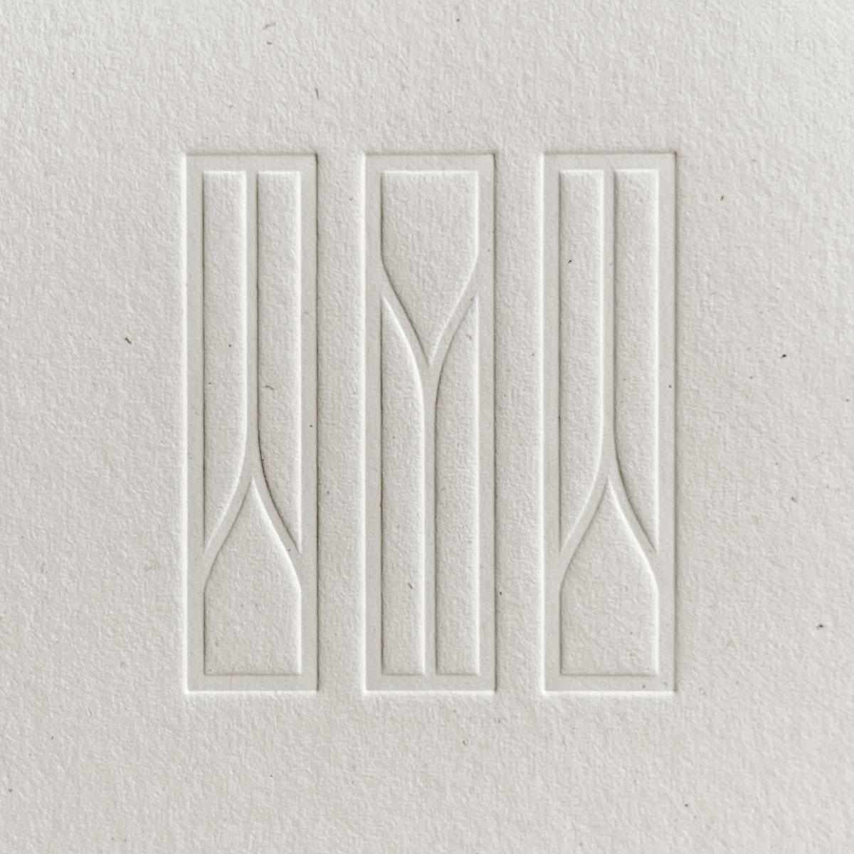 United Marble Logo Debossed