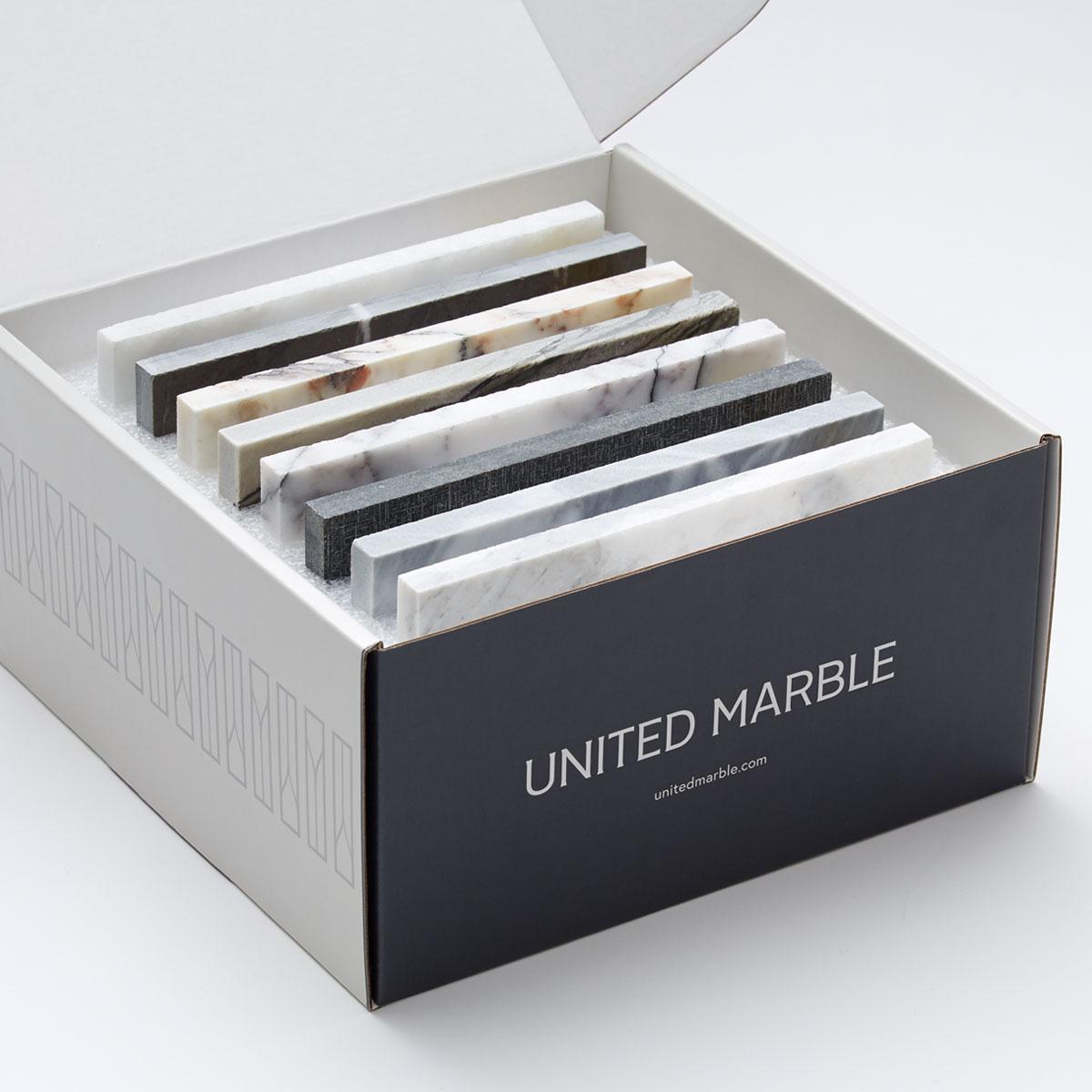 United Marble Sample Box