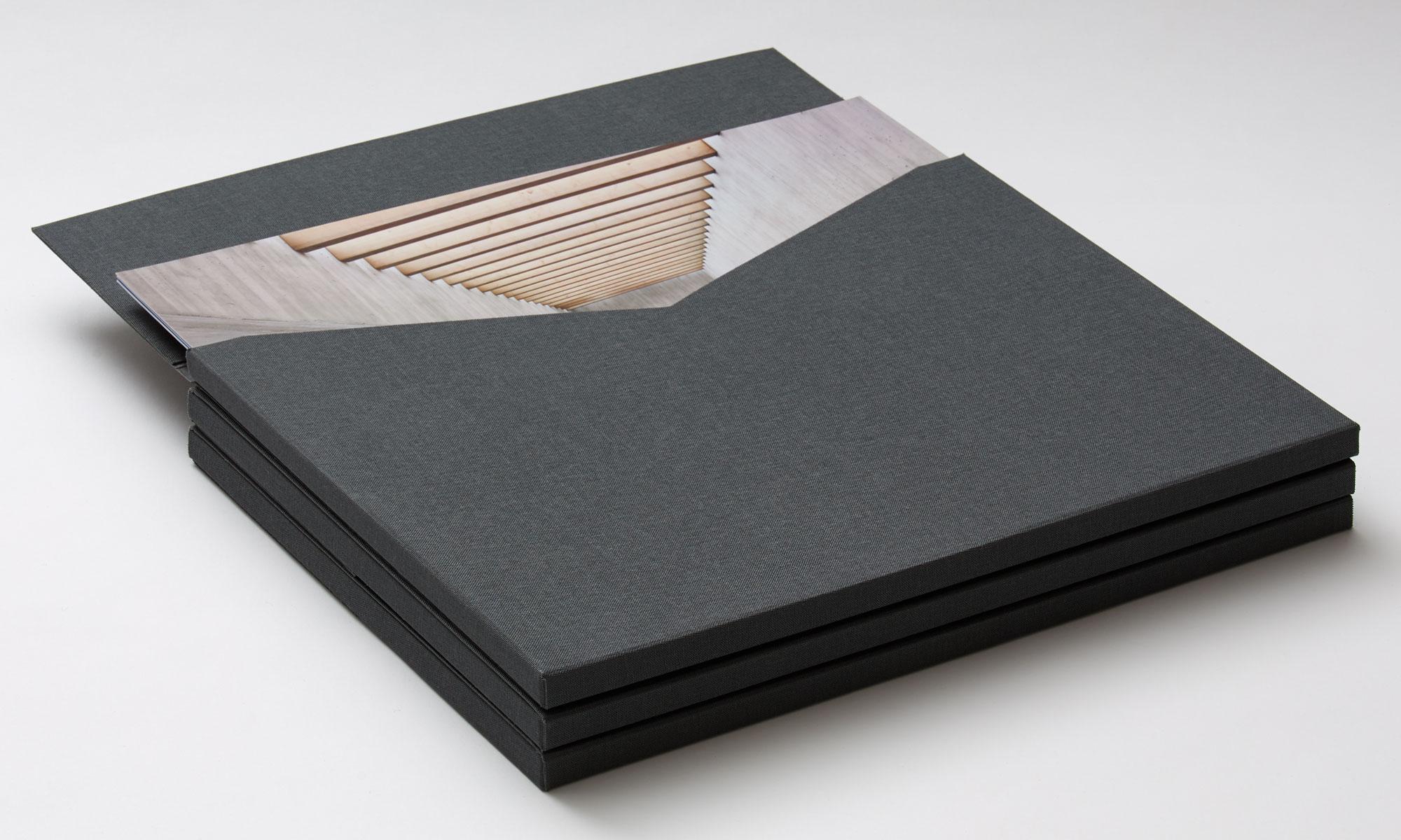 Wright&Co. Portfolio folder open