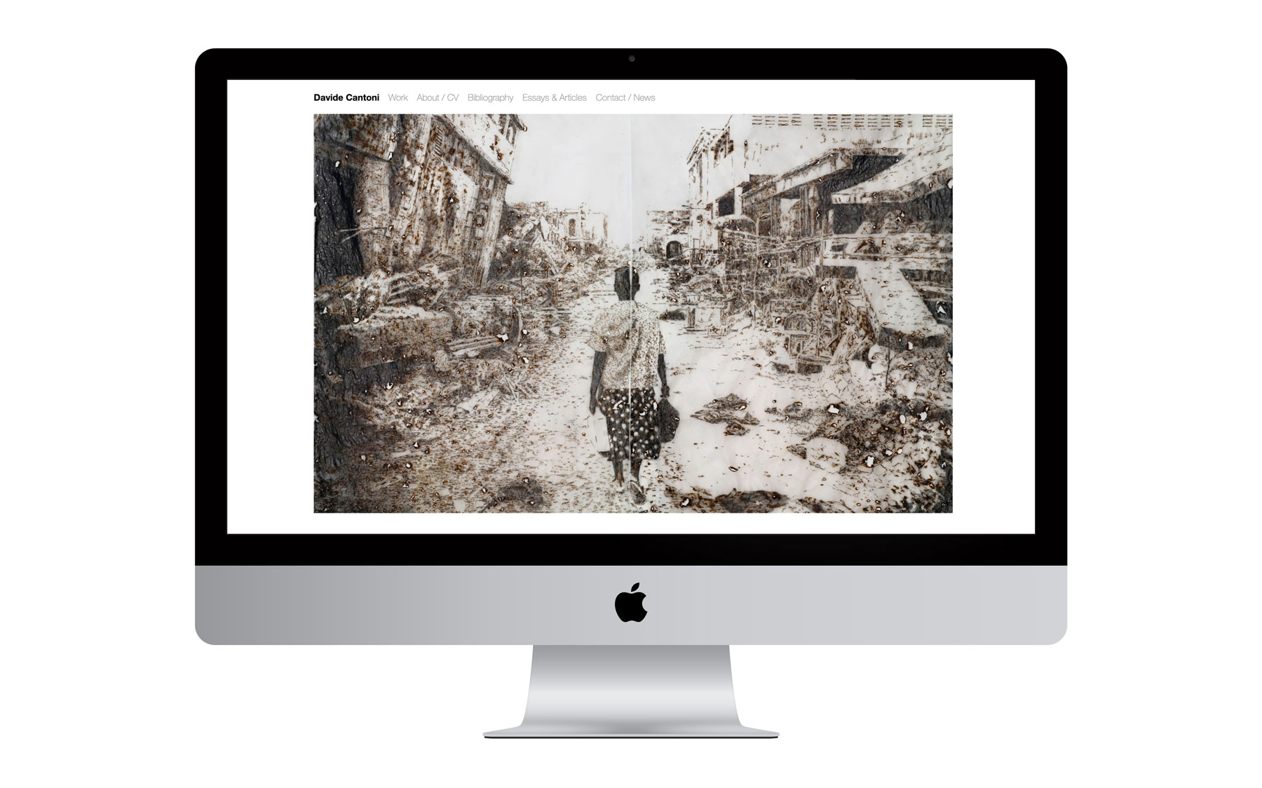 Davide Cantoni Website