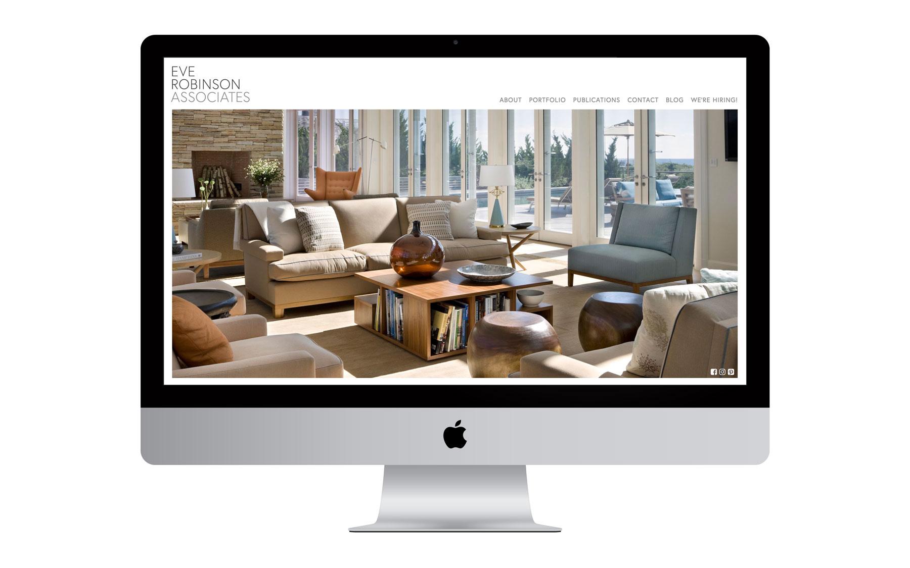 Eve Robinson Associates Website