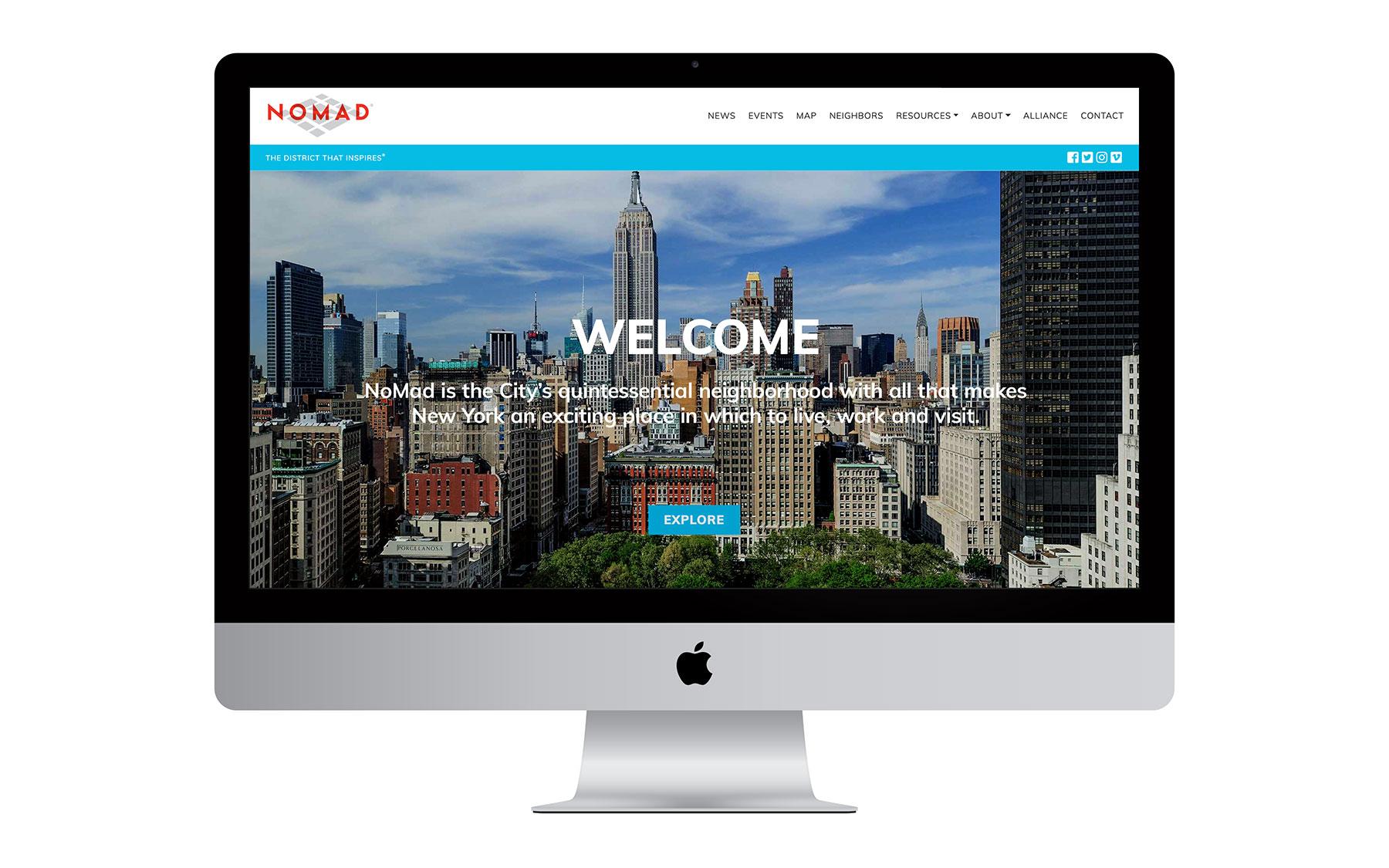 ExperienceNoMad Website