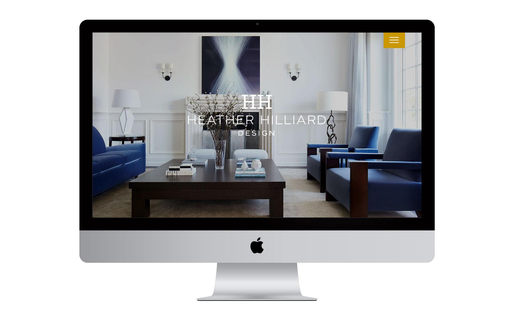 Heather Hilliard Design Website