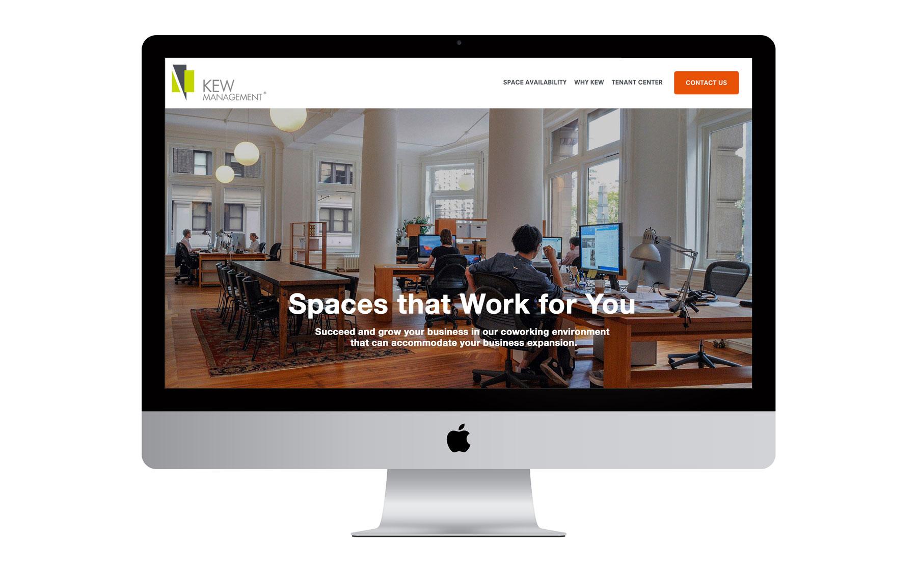 Kew Management Website