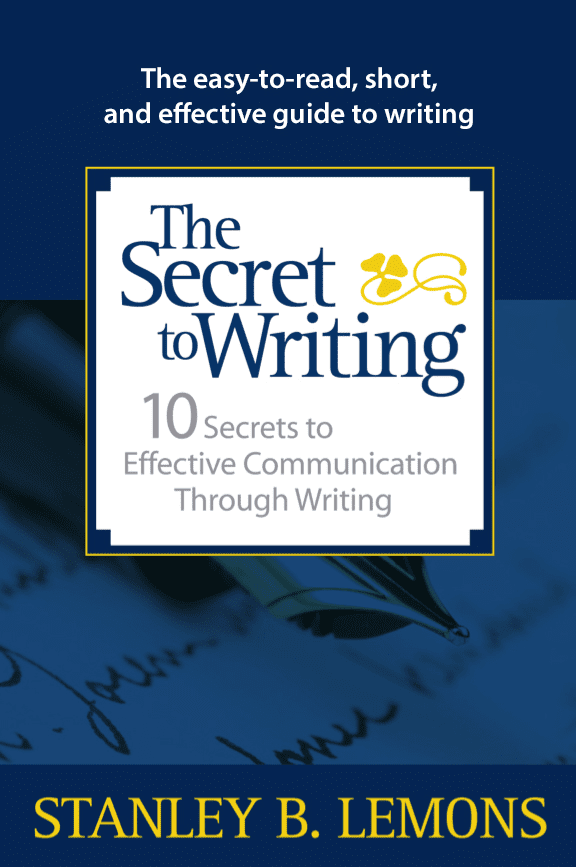 The Secret to Writing