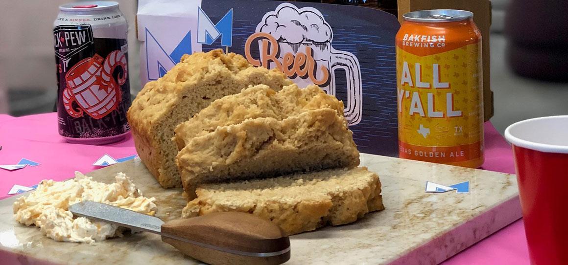 Recipe: Beer Bread & Cheese Dip