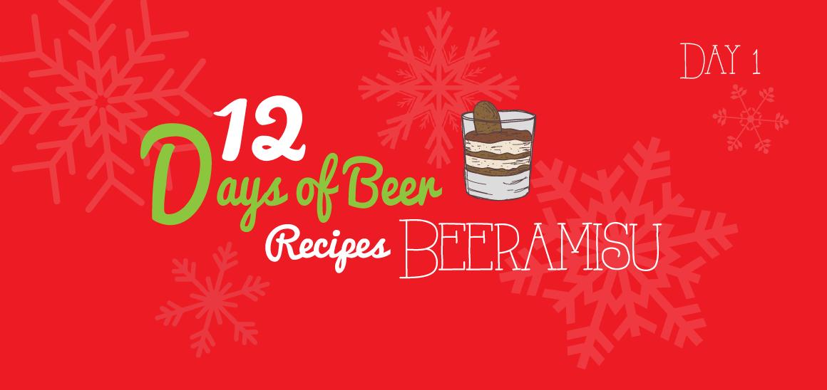 12 Days of Beer Recipes: Day 1 – Beeramisu