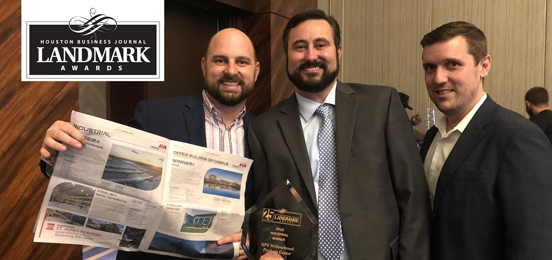 UPS Willowbrook Project Wins HBJ Industrial Landmark Award