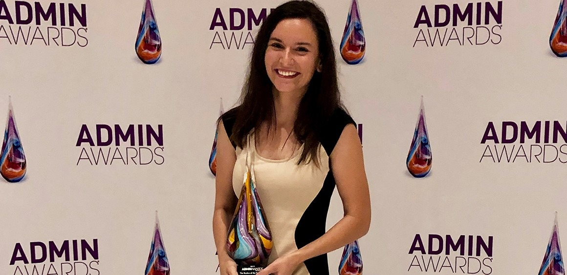 Method Admin Named 2019 Rookie of the Year at Admin Awards