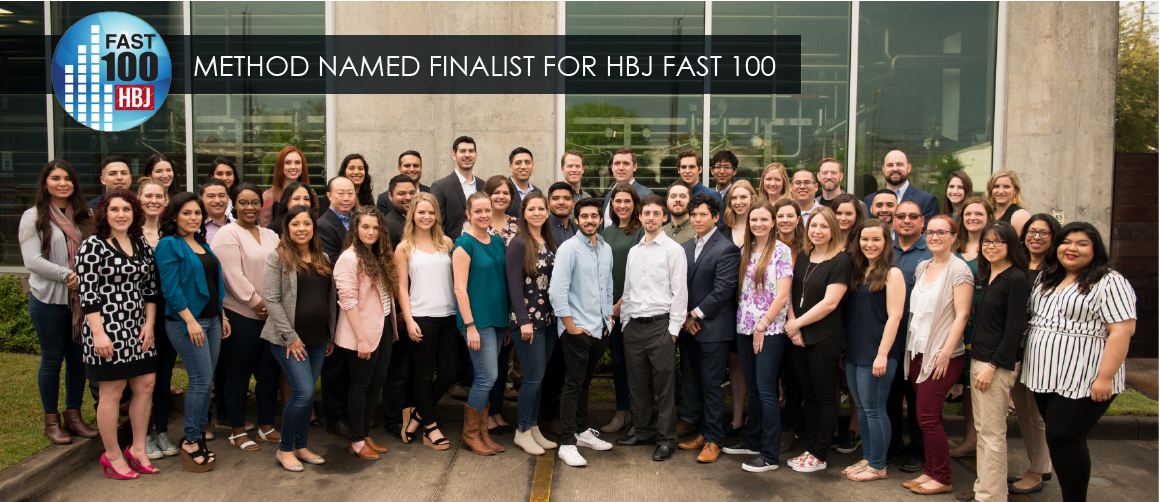 Method Architecture Named Finalist for 2019 Houston Fast 100