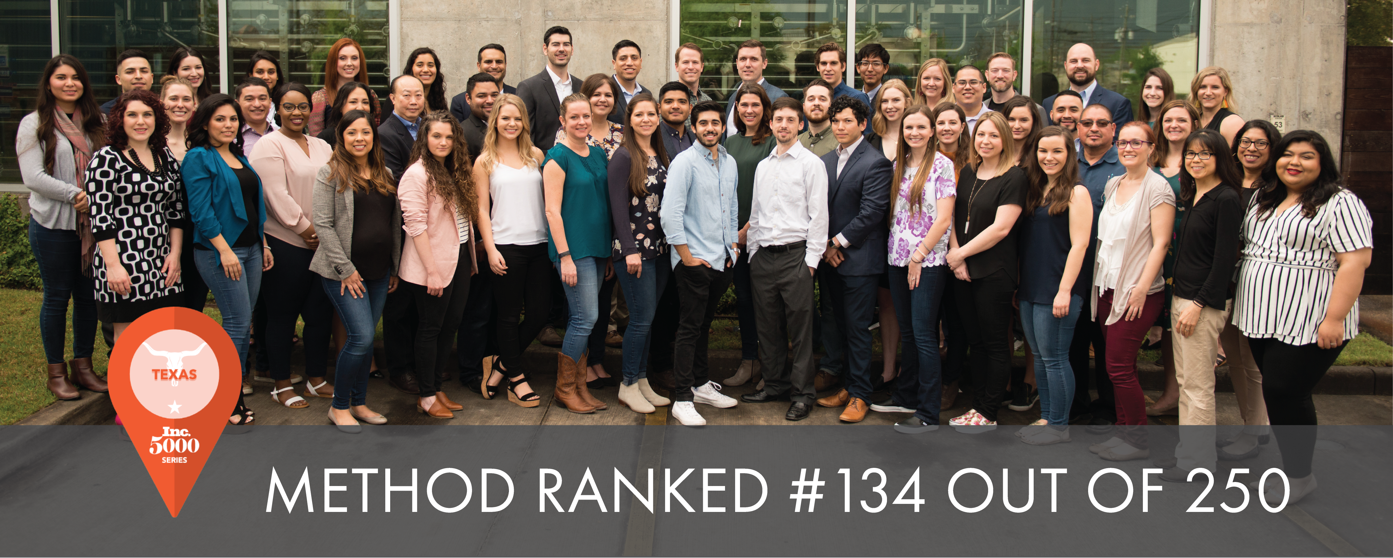 Method Architecture Ranked #134 Fastest Growing Texas Companies