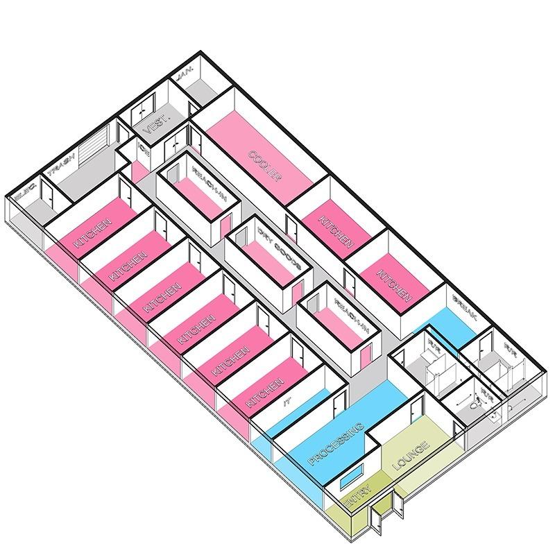 cloud kitchen layout