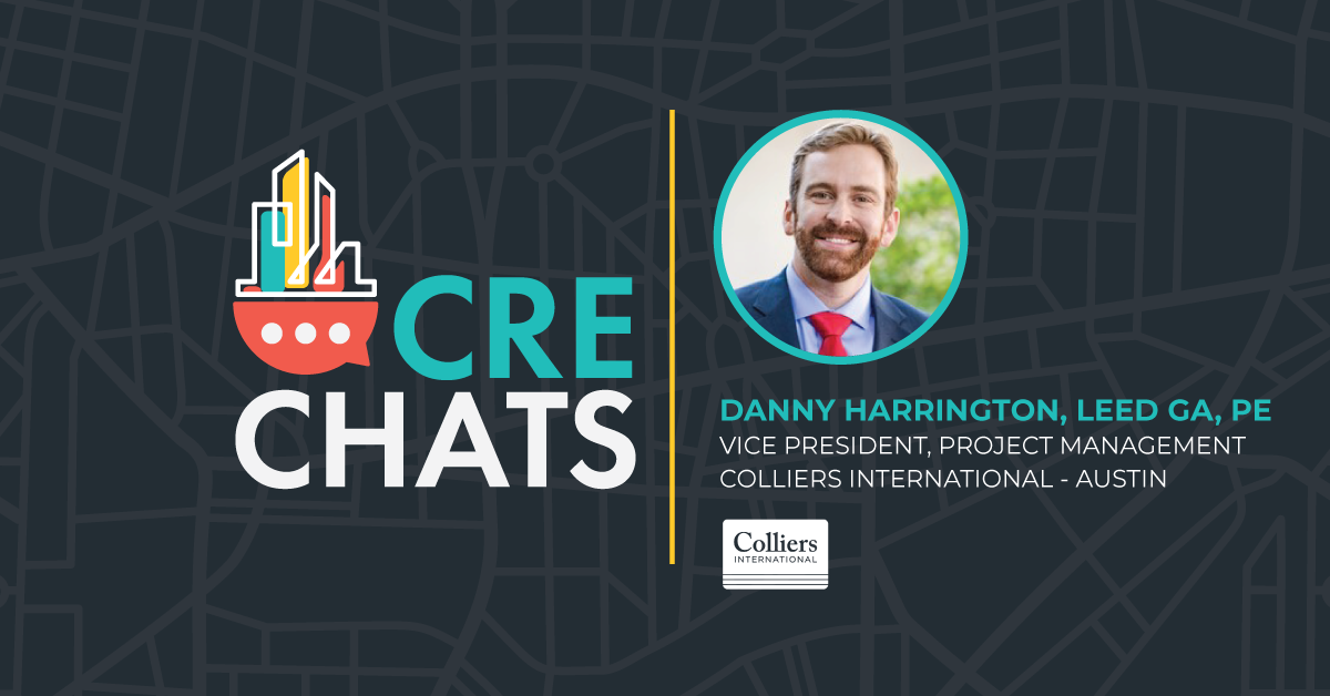 CRE Chats: Danny Harrington, LEED GA, PE