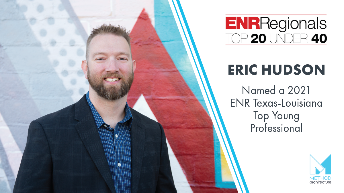 Eric Hudson Named 2020 ENR Top Young Professional