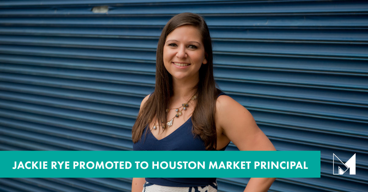 Jackie Rye, AIA Promoted to Houston Market Principal