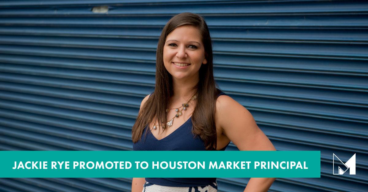 Jackie Rye, AIA Promoted to Houston Market Principal