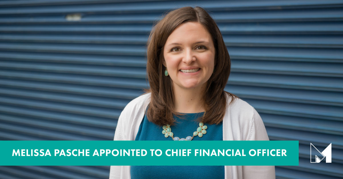 Melissa Pasche Appointed to Chief Financial Officer