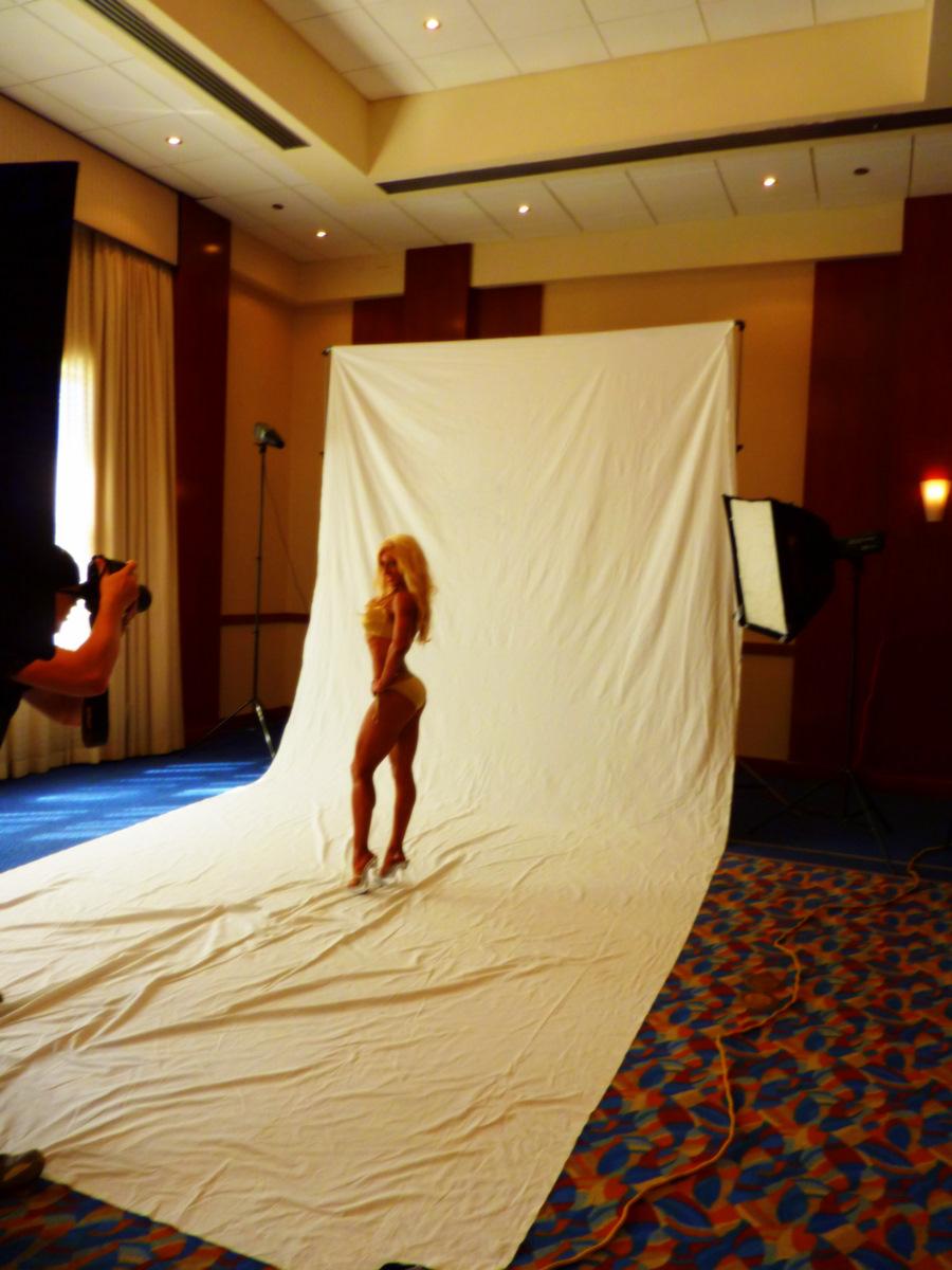 Shawn Rene Zimmerman Fitness Modeling Photo Shoot