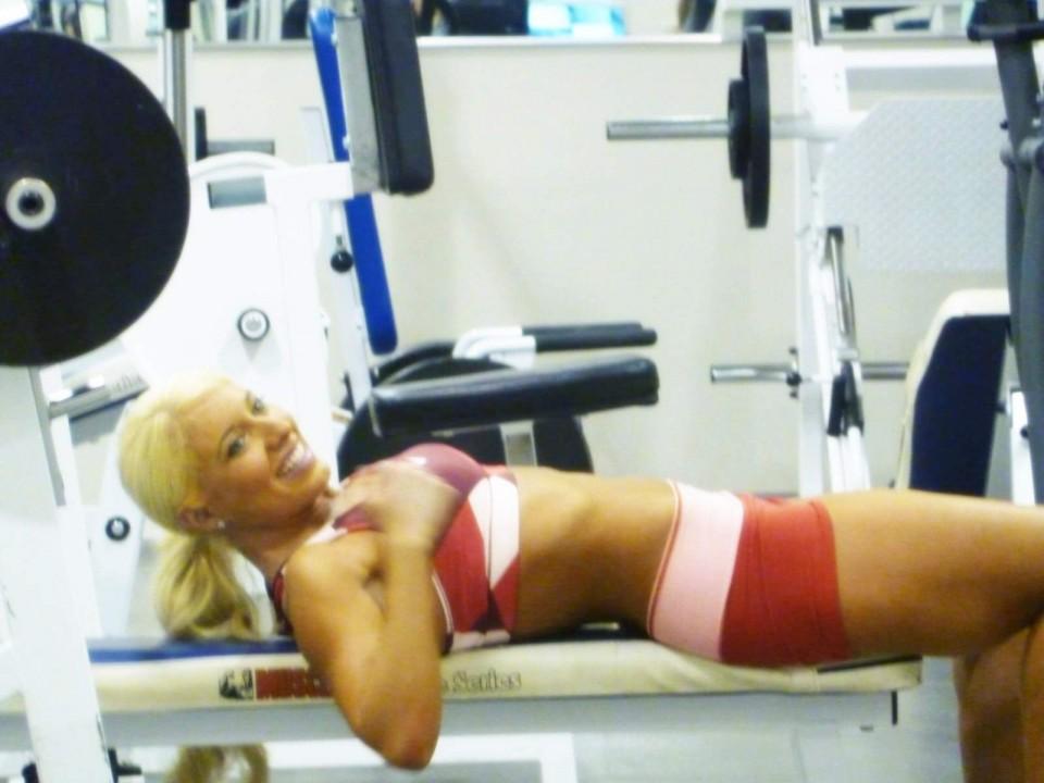 Oxygen Fitness Magazine Shawn Rene Zimmerman Fitness Modeling