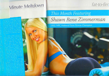 FitnessRXMagCoverPage