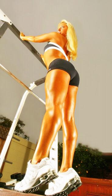 Shawn Rene Zimmerman celebrity health fitness expert trainer magazine glamour shape oxygen mag Photoshoot sports illustrated swim